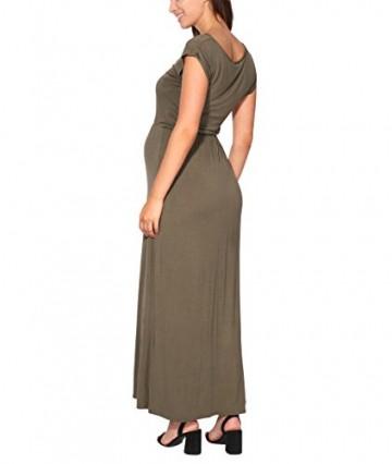 3269-KHA-08: KRISP Damen Leichtes Kleid (Khaki, Gr.36) -