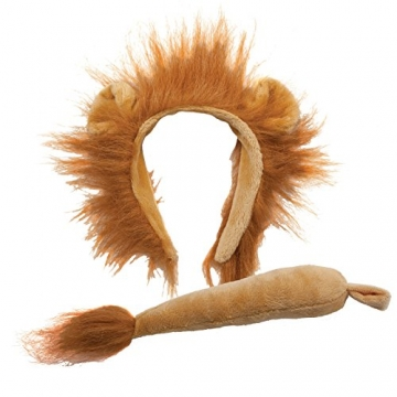 Animal Ears & Tail Set – Lion Kids Fancy Dress -