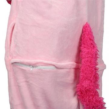 Einhorn Kostüm Pyjamas Tierkostüm Schlafanzug Verkleiden Cosplay Kostüm zum Karneval Fasching -