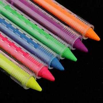 Gazechimp 6 Farben UV-Licht Bodypainting Schminke | Körperfarbe für Body und Facepainting -