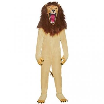 Löwen Kostüm Zirkus Löwenkostüm M 48/50 Löwe Katzenkostüm Wildkatze Tierkostüm Tier Ganzkörperkostüm Zoo Faschingskostüm -