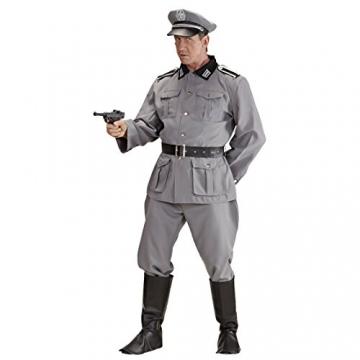 Herrenkostüm Deutscher Soldat WW2 Soldaten Kostüm L 52 Historisches Soldatenkostüm Offizier Militär Uniform General 2. Weltkrieg Verkleidung Armee Outfit Männer - 2
