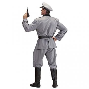Herrenkostüm Deutscher Soldat WW2 Soldaten Kostüm L 52 Historisches Soldatenkostüm Offizier Militär Uniform General 2. Weltkrieg Verkleidung Armee Outfit Männer - 3
