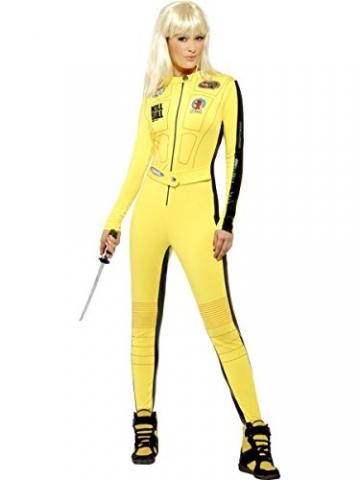 Smiffys Damen Kostüm Kill Bill Overall Schwert Karneval Fasching Größe S - 1