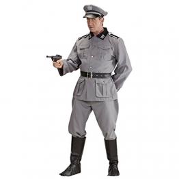 WW2 Soldaten Kostüm Herrenkostüm Deutscher Soldat L 52 Militär Uniform General Historisches Soldatenkostüm Offizier Armee Outfit Männer 2. Weltkrieg Verkleidung - 1