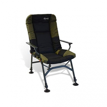 CarpOn Stuhl extra Heigh Camping Einstellbar Carp Fishing Chair 130kg - 1
