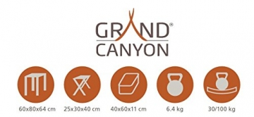 Grand Canyon Alu Table Set for 2 - 2