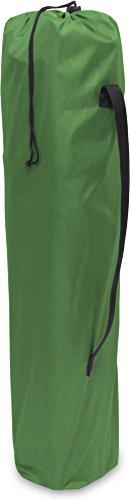 normani 2-Sitzer Campingstuhl Doppelklappstuhl Campingsofa bis 250 Kg inkl. Tragebeutel und Getränkhalter Farbe Oliv - 3