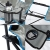 skandika Campingstuhl Relax Stabiler Faltstuhl mit Beinauflage und Getränkehalter, bis 130 kg belastbar - 3