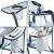 skandika Campingstuhl Single/Double Klappstuhl Faltstuhl bis 150/200 kg belastbar, Getränkehalter und Tragetasche (Campingstuhl Deluxe) - 3