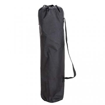 SONGMICS Campingstuhl, klappbar, Klappstuhl mit hoher Rückenlehne, mit Flaschenhalter und Kühltasche, komfortabel, Robustes Gestell, bis 250 kg belastbar, Outdoor Stuhl, rot und schwarz GCB10RB - 9