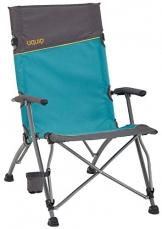Uquip Sidney Campingstuhl - Lounge-Charakter, hohe Rückenlehne, bis 120 kg - 1