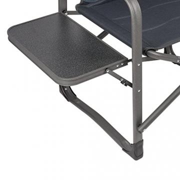 XXL Campingstuhl mit bis zu 180 KG Tragkraft, EXTREMER Komfort Dank zusätzlicher Polsterungen, XXL Schwerlaststuhl Extra Robust + Stabil bei leichtem Eigengewicht, XXL Campingstuhl mit Tisch - 2