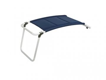 XXL stabiler Hochlehner Campingstuhl gepolstert mit praktischer Fußablage - Ideal zum Relaxen! - 4