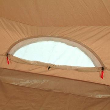 10T Camping-Zelt Desert 8 wasserdichtes 4 - 8 Mann Familienzelt Tipi aus Baumwolle-Mischgewebe - 8