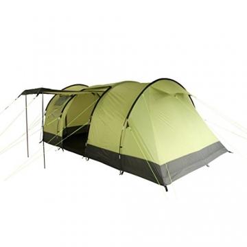 10T Zelt Devonport 5 Mann Campingzelt wasserdicht 5000mm Tunnelzelt Familienzelt Bodenwanne Wohnraum - 3