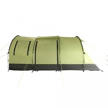 10T Zelt Devonport 5 Mann Campingzelt wasserdicht 5000mm Tunnelzelt Familienzelt Bodenwanne Wohnraum - 5