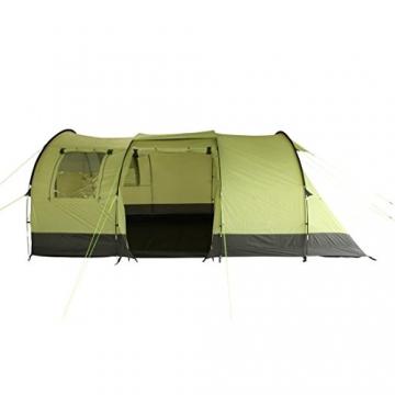 10T Zelt Devonport 5 Mann Campingzelt wasserdicht 5000mm Tunnelzelt Familienzelt Bodenwanne Wohnraum - 6