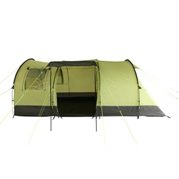 10T Zelt Devonport 5 Mann Campingzelt wasserdicht 5000mm Tunnelzelt Familienzelt Bodenwanne Wohnraum - 7