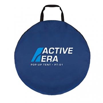 Active Era™ Wurfzelt für 2 Personen - Zelt mit Belüftung und praktischer Tragetasche | Perfektes Pop Up Zelt für Festivals und Camping Trips - 6
