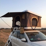 """ADKINC 85""""Dachzelt, Outdoor Hard Shell Dachzelt LKW mit hydrauliksystem für Camping Reise Familie Fahren (600D Oxford Tuch PU Beschichtung Wasserdicht 3000mm) - 1"""