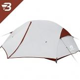 Bessport Ultraleicht Zelte 2-3 Personen, Winddicht &Wasserdicht PU 3000MM+, 3-4 Saison, Kuppelzelt Sofortiges Aufstellen für Trekking, Festival, Camping und Outdoor (3Person-Burgundy) - 1