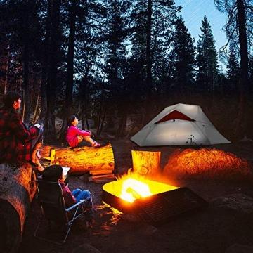 Bessport Ultraleicht Zelte 2-3 Personen, Winddicht &Wasserdicht PU 3000MM+, 3-4 Saison, Kuppelzelt Sofortiges Aufstellen für Trekking, Festival, Camping und Outdoor (3Person-Burgundy) - 7