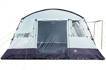 CampFeuer Familienzelt XtraL Zelt für 6 Personen | riesiger Vorraum, 5000 mm Wassersäule | Campingzelt Tunnelzelt groß - 2
