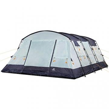 CampFeuer Familienzelt XtraL Zelt für 6 Personen | riesiger Vorraum, 5000 mm Wassersäule | Campingzelt Tunnelzelt groß - 3