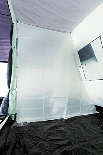 CampFeuer Familienzelt XtraL Zelt für 6 Personen | riesiger Vorraum, 5000 mm Wassersäule | Campingzelt Tunnelzelt groß - 9