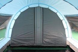 CampFeuer - XXL Tunnelzelt, 2 Kabinen, 6 Personen, hellblau-grau, 5000 mm WS - 5