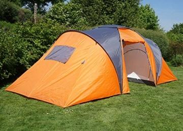 Campingzelt Loksa, 6-Mann Zelt Kuppelzelt Igluzelt ...