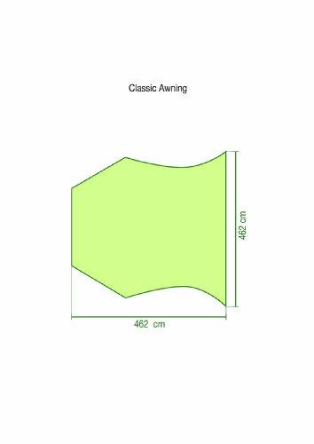 Coleman Classic Awning Vorzelt, grau, L - 2