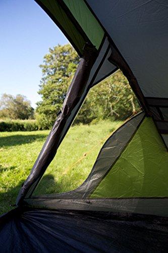 Coleman Darwin 3+ Zelt, 3 Personen, 3 Mann Zelt, Igluzelt, Festivalzelt, Leichtes Kuppelzelt mit Vorzelt, Wasserdicht WS 3.000 mm - 7