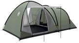 Coleman Waterfall 5 Deluxe Familienzelt, 5 Mann Zelt mit separatem Wohn und Schlafraum, einfach afzubauen, 5 Personen Zelt, Wasserdicht WS 3000mm - 1