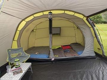 Coleman Zelt Galileo 5, 5 Mann Zelt, 5 Personen Tunnelzelt, Campingzelt, Familienzelt mit Vorzelt, wasserdicht WS 3.000mm - 12