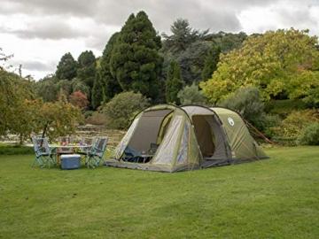 Coleman Zelt Galileo 5, 5 Mann Zelt, 5 Personen Tunnelzelt, Campingzelt, Familienzelt mit Vorzelt, wasserdicht WS 3.000mm - 17