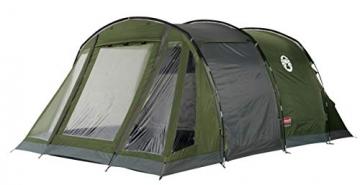 Coleman Zelt Galileo 5, 5 Mann Zelt, 5 Personen Tunnelzelt, Campingzelt, Familienzelt mit Vorzelt, wasserdicht WS 3.000mm - 1