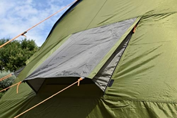 Coleman Zelt Galileo 5, 5 Mann Zelt, 5 Personen Tunnelzelt, Campingzelt, Familienzelt mit Vorzelt, wasserdicht WS 3.000mm - 5
