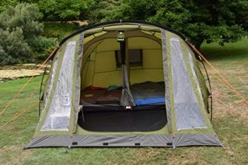Coleman Zelt Galileo 5, 5 Mann Zelt, 5 Personen Tunnelzelt, Campingzelt, Familienzelt mit Vorzelt, wasserdicht WS 3.000mm - 9