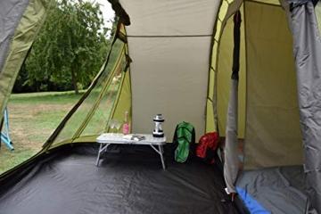 Coleman Zelt Galileo 5, 5 Mann Zelt, 5 Personen Tunnelzelt, Campingzelt, Familienzelt mit Vorzelt, wasserdicht WS 3.000mm - 10