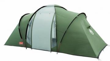 Coleman Zelt Ridgeline 4 Plus, 4 Mann Zelt, 4 Personen Vis-A-Vis Tunnelzelt, Campingzelt, Kuppelzelt mit Sonnendach, wasserdicht WS 4.000mm - 2