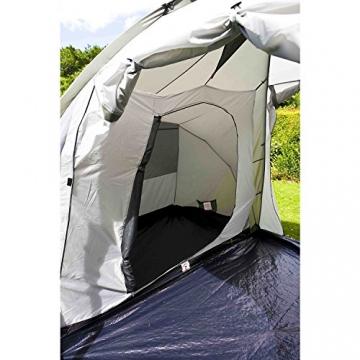 Coleman Zelt Ridgeline 4 Plus, 4 Mann Zelt, 4 Personen Vis-A-Vis Tunnelzelt, Campingzelt, Kuppelzelt mit Sonnendach, wasserdicht WS 4.000mm - 13