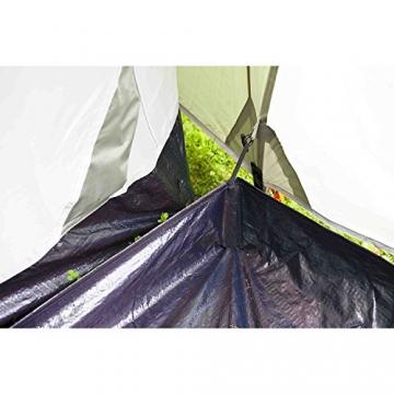 Coleman Zelt Ridgeline 4 Plus, 4 Mann Zelt, 4 Personen Vis-A-Vis Tunnelzelt, Campingzelt, Kuppelzelt mit Sonnendach, wasserdicht WS 4.000mm - 16