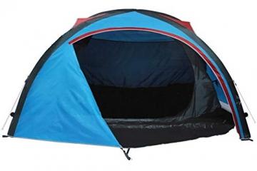 Crivit 2-Personen Zelt, aufblasbar, incl. Tasche - 1