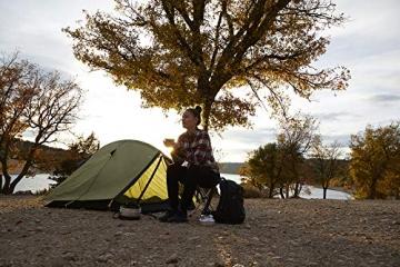 Grand Canyon CARDOVA 1 - Tunnelzelt für 1-2 Personen | Ultra-leicht, wasserdicht, kleines Packmaß | Zelt für Trekking, Camping, Outdoor | Capulet Olive (Grün) - 7