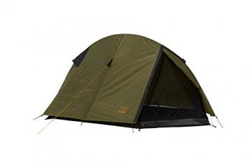 Grand Canyon CARDOVA 1 - Tunnelzelt für 1-2 Personen | Ultra-leicht, wasserdicht, kleines Packmaß | Zelt für Trekking, Camping, Outdoor | Capulet Olive (Grün) - 8