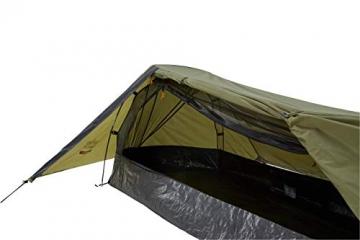 Grand Canyon Richmond 1 - Tunnelzelt für 1 Person | Ultra-leicht, wasserdicht, kleines Packmaß | Zelt für Trekking, Camping, Outdoor | Capulet Olive (Grün) - 3
