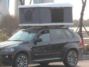 Hartschalen-Autodachzelt, GFK grau, Öffnung automatisch von Prime Tech - 4