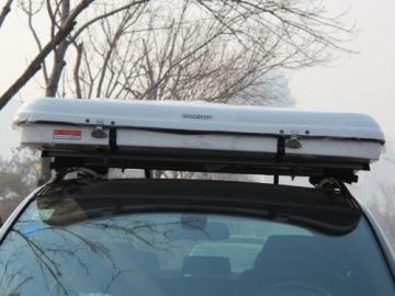 Hartschalen-Autodachzelt, GFK grau, Öffnung automatisch von Prime Tech - 5